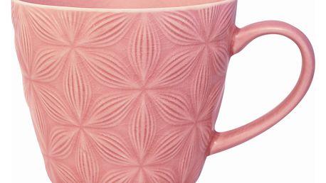 GREEN GATE Keramický hrnek Kallia pale pink, růžová barva, keramika 275 ml