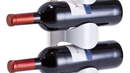 Nástěnné stojan na víno - 4 láhve, ZELLER