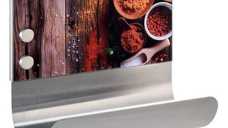 Magnetický držák na utěrky s poličkou Wenko Spices
