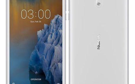 Nokia 3, měděná - bílá