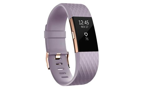 Fitness náramek Fitbit Charge 2 small - Lavender Rose Gold (FB407RGLVS-EU)