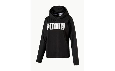 Mikina Puma URBAN SPORTS Light Cover up Černá