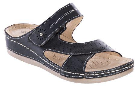Cabin Dámské pantofle SUN se zipem