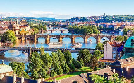 4* pobyt v Praze se snídaní a wellness relaxem