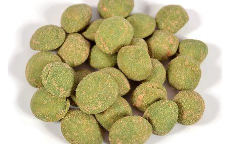 Arašídy s příchutí wasabi v 250g či 1kg balení