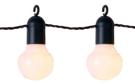 Světelný LED řetěz vhodný do exteriéru Best Season Party, 20 světýlek