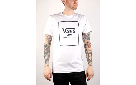 Tričko Vans Mn Print Box White/Dress Bílá