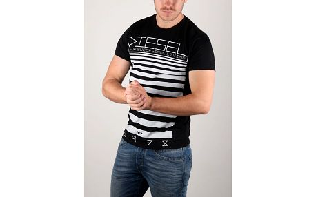 Tričko Diesel T - Diego - Od Maglietta Černá