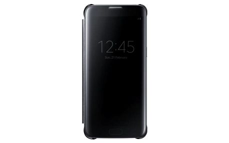 Pouzdro na mobil flipové Samsung Clear View pro Galaxy S7 Edge (EF-ZG935C) černé (EF-ZG935CBEGWW)