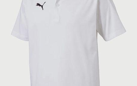 Tričko Puma LIGA Casuals Polo Bílá