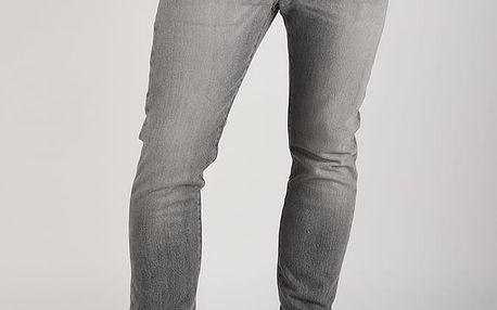 Džíny LEVI'S 501 Skinny Simpson Šedá