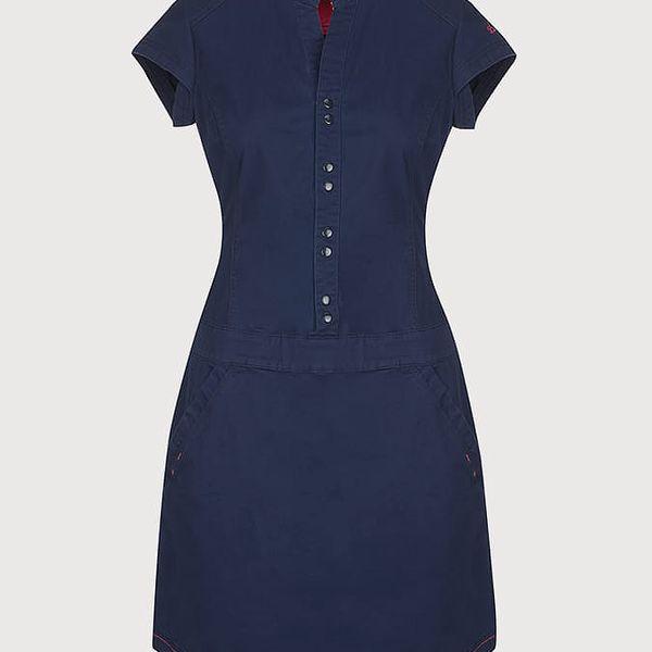 Šaty Loap Narelis Modrá