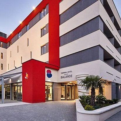 3denní luxusní wellness pobyt pro 2 s polopenzí v Thermal Hotelu Balance**** v Maďarsku