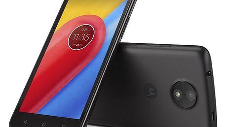 Mobilní telefon Motorola Moto C Dual SIM (PA6L0079CZ) černý Software F-Secure SAFE, 3 zařízení / 6 měsíců v hodnotě 979 Kč