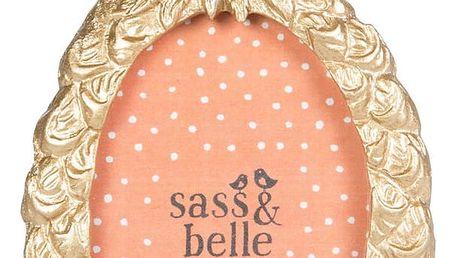 Stolní fotorámeček ve zlaté barvě Sass & Belle Mini Pineapple