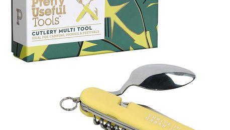 Multifunkční kapesní nástroj Pretty Useful Tools Sunrise Yellow