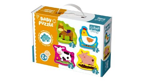Baby puzzle pro děti 4 ks
