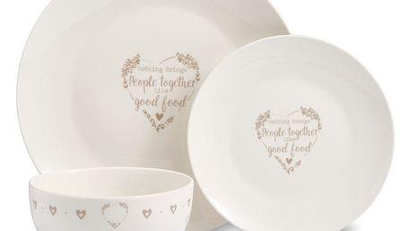 12dílný set nádobí z porcelánu Cooksmart England Classic