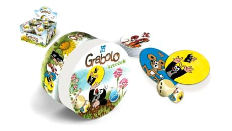 Společenská hra pro děti Krteček Grabolo