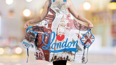 Bavlněný kuchyňský set Londýn