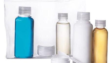 Cestovní lahvičky v tašce - ušetřete místo v zavazadle!