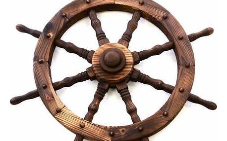 Garthen 239 Dřevěné kormidlo 80 cm - stylová rustikální dekorace