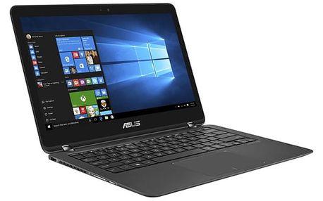 Notebook Asus ZenBook Flip UX360UAK-DQ417T černý + dárky (UX360UAK-DQ417T)