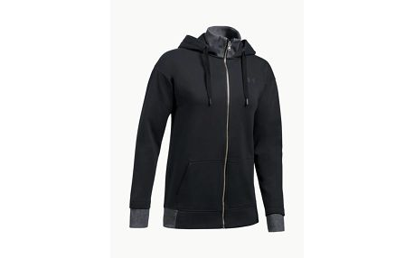 Mikina Under Armour Threadborne Full Zip Černá