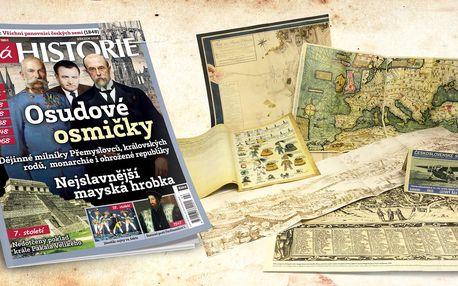 Kompletní ročník magazínu Živá historie 2018
