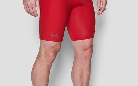 Kompresní šortky Under Armour HG 2.0 Long Short Červená