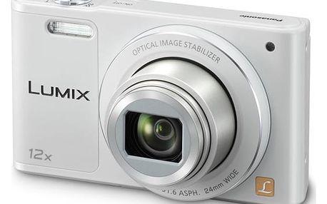 Digitální fotoaparát Panasonic Lumix DMC-SZ10EP-W bílý