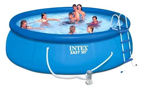 Intex Easy Set 4,57x1,22 m, kartušová filtrace 3,8 m3/h, 28168NP