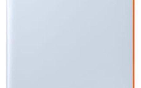 Pouzdro na mobil flipové Samsung Neon Flip pro Galaxy A3 2017 (EF-FA320P) modré (EF-FA320PLEGWW)