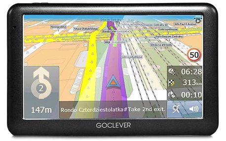 Navigační systém GPS GoClever Navio 2 540 MapFactor Lifetime černá (GCDN2540NR)
