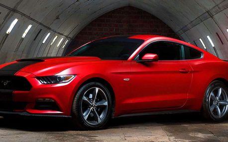 Jízda v upraveném Ford Mustang 2016 na 24 hodin