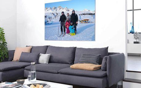 Fotoobraz na plátně, na šířku i na výšku