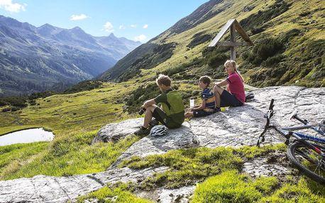 Aktivní pobyt v Rakousku: 3 či 5 nocí, polopenze