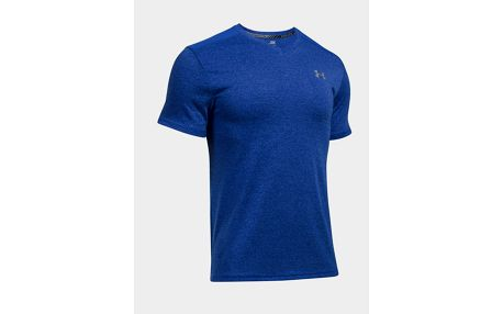 Tričko Under Armour Threadborne Streaker V Neck Modrá