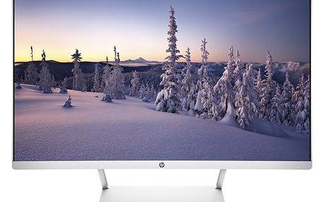 Monitor HP 27 Curved stříbrný/bílý (Z4N74AA#ABB)