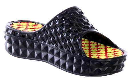 Sport Fashion Dámské nazouváky na platformě