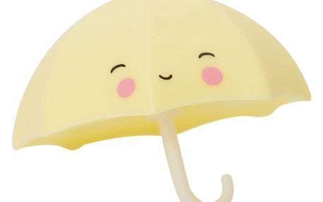 A Little Lovely Company Hračka do vany Umbrella, žlutá barva, plast