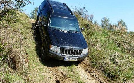 Offroad jízda v Jeepu