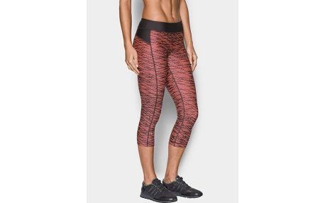 Kompresní legíny Under Armour HeatGear Printed Capri Barevná