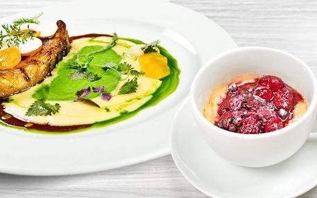 Luxusní degustační menu pro dvě osoby