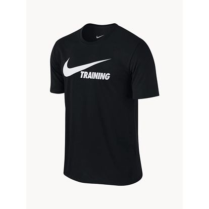 Tričko Nike Training Swoosh Tee Černá