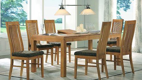 Jídelní stůl BRUNO + židle LAURA 1+4