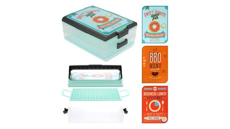 EXCELLENT Box na potraviny přenosný 36 x 28 cm KO-Y54005470