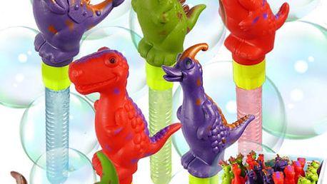 Bublifuk s dinosaurem Bubbly