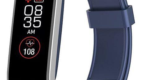 Fitness náramek MyKronoz ZeFit4 HR stříbrný/modrý (KRZEFIT4HR-BL/S)