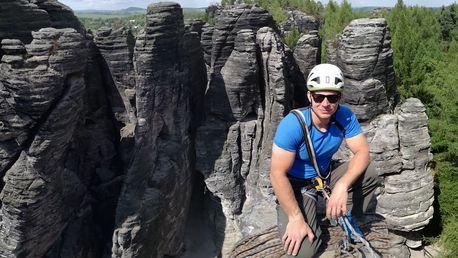 Celodenní lezecký kurz ve skalách pro 2 os.